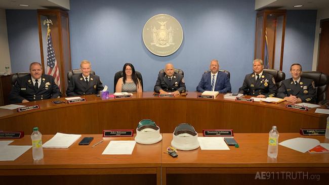 Comisionado del cuerpo de bomberos del área de Nueva York adoptan resolución sobre el 11 de septiembre