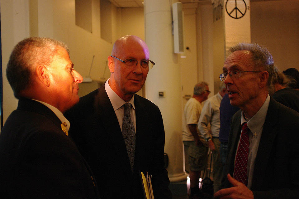 Christopher Gioia, David R. Meiswinkle and John O'Kelly